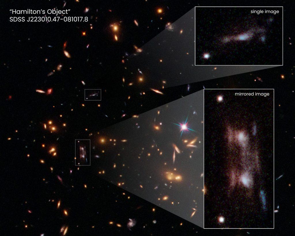Galaksi ganda membingungkan astronom Hubble - 'Kami bingung'