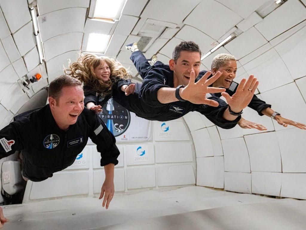 Astronot SpaceX mengatakan dia sakit dalam dua hari pertama misi Inspiration4 dan berpikir penerbangan luar angkasa tidak cukup lama, menurut sebuah laporan.