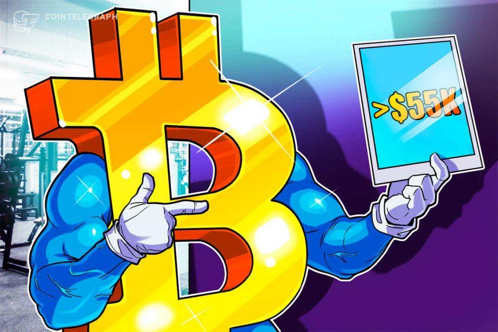 Apa itu koreksi bitcoin?  BTC memegang $55.000 meskipun ada beberapa indikator bearish