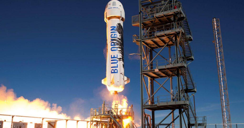 Blue Origin bersiap untuk peluncuran luar angkasa dengan William Shatner di dalamnya