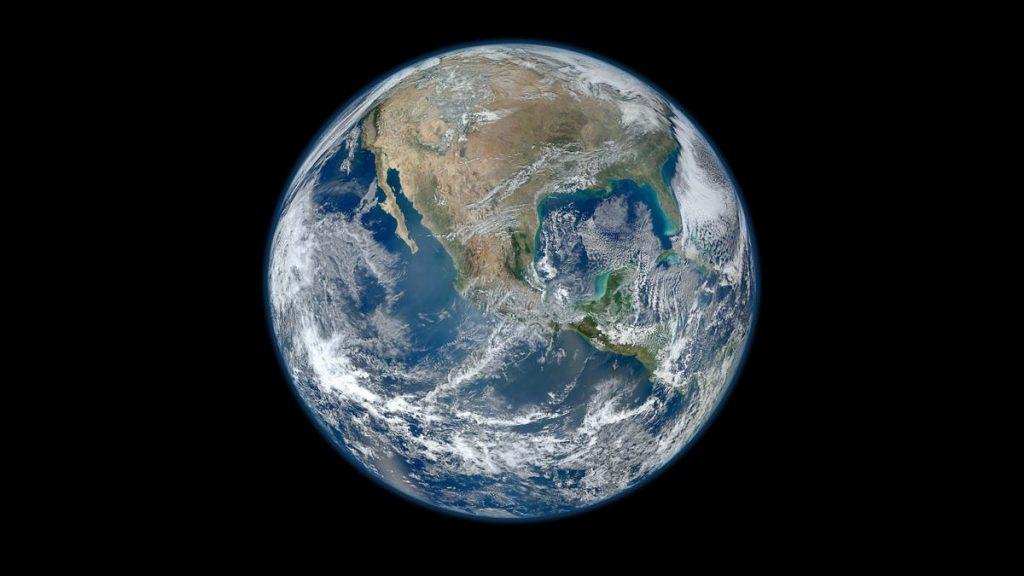 Bumi menjadi pucat