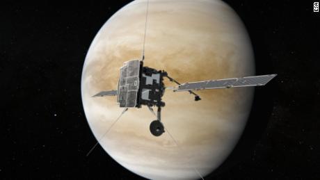 Venus mendapat '  belum pernah terjadi sebelumnya & # 39;  Penerbangan ganda minggu ini